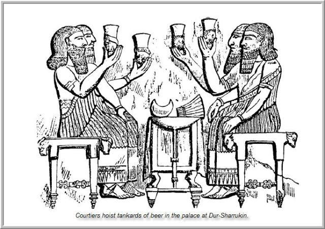Mesopotamia Food and Drink beer drunkers