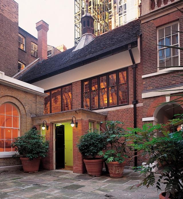 Barnards Inn Hall - courtyard - Cropped
