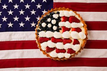 american-pie-on-american-flagamerican-pie-on-american-flagamer-garry-gay