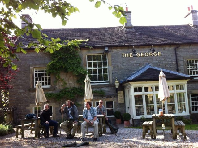 The Peak District Walking/Pub Trip. And a closed pub which would have made it nowhere near Nick & Charlie Hurt's Top 200.