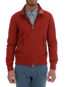 Baracuta G9 Garment Dye -Red