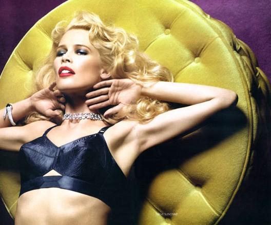 Claudia Schiffer Vogue Russian SolveS