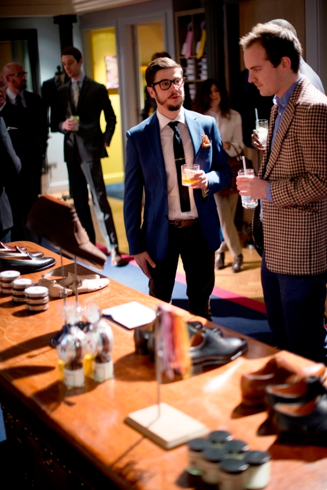 The Holborn boys at J Fitzpatrick Footwear Launch.