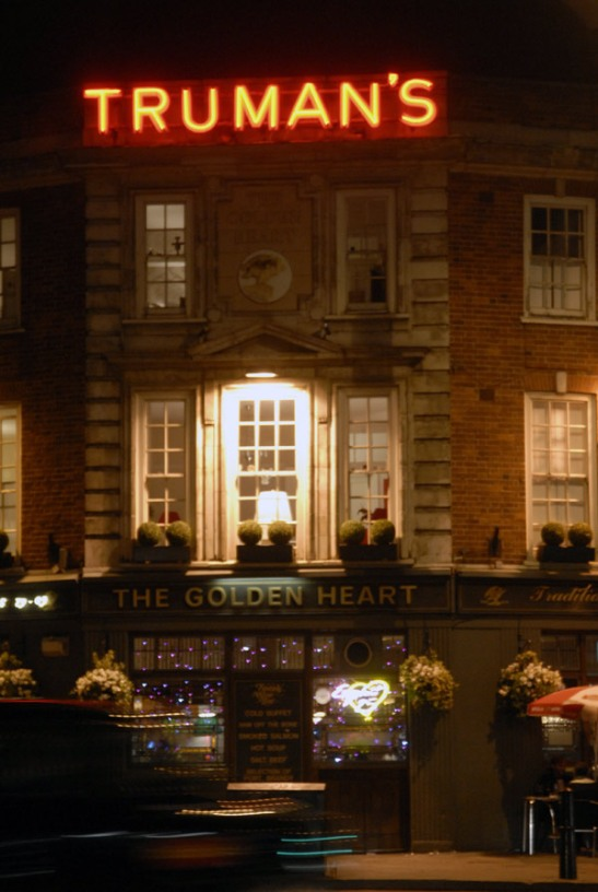 Life from the other side of the bar: The Golden Heart