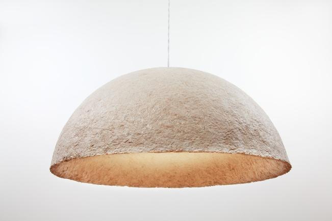 mushroom material lamp Evocative design