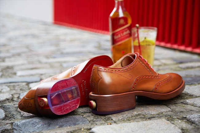Oliver Sweeney x Johnnie Walker brogues interview The Holborn