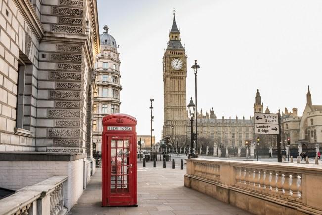 Telephone box The Holborn news